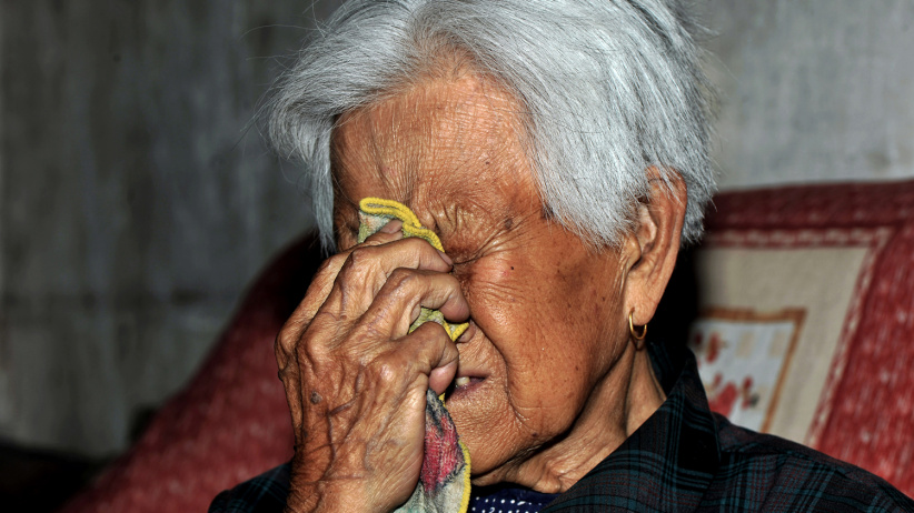 """残忍和泪水都应该被铭记——山西""""慰安妇""""影像档案"""