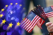 """""""放?#23567;?#27431;美贸易谈判 欧盟?#33322;?#36890;知美方,尽快启动"""