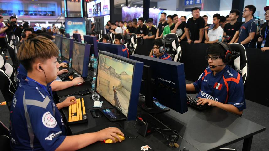 世界电子竞技大赛在西安举行