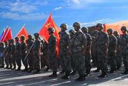"""中国218名维和官兵被联合国授予""""和平荣誉勋章"""""""