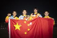 中国队卫冕现代五项女子团体冠军