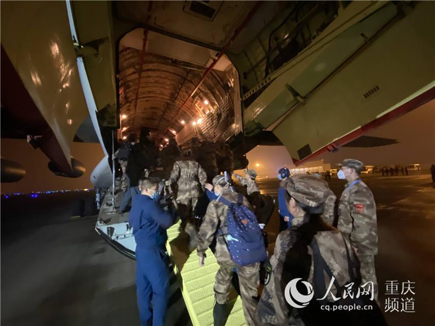 陸軍軍醫大學150人醫療隊連夜馳援武漢