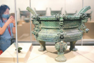 """南京博物院""""融·合""""特展:展示中华传统文化奠基史"""