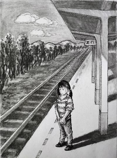 温暖的火车站,爱心温暖滞留火车站的孩子