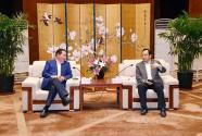 张雷王新伟会见月星集团丁佐宏一行 环球港助力沈阳城市发展