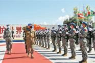 中國第19批赴黎巴嫩維和官兵榮獲聯合國和平勛章