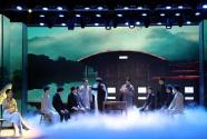 《百年風華》大型音樂史詩劇在京上演 再現紅中社首播新聞的歷史場景